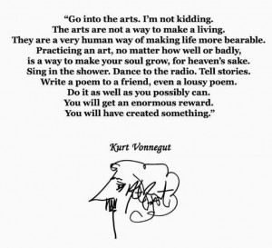 Kurt vonnegut. quotes. wisdom. advice. life lessons. creativity ...