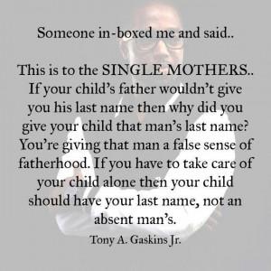 Single Mothers