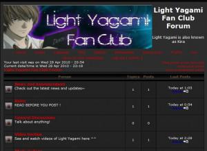 Light Yagami Fan Club