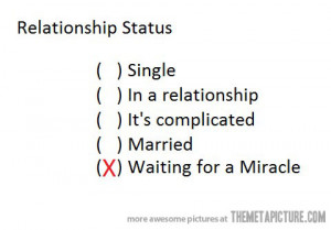 Funny photos funny relationship status options miracle