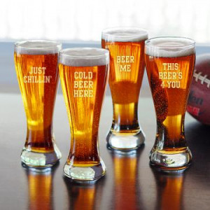 Beer Sayings Pilsner - Set of 4
