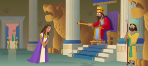 "... and Beautiful Queen,"" New Bible App for Kids Story about Esther"