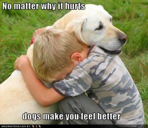 realize social network site hope feel feel better dog
