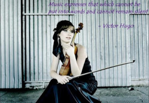 Music expresses that which cannot be put into words and cannot remain ...