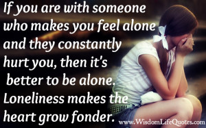 When You Feel Alone Quotes