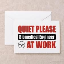 Biomedical Engineer Work Greeting Cards (Pk of 10) for