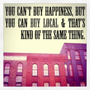 Buy local // Support local small business this holiday season} # ...