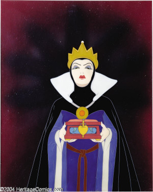 The plot of the film explores the story of a jealous and wicked queen ...