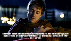 That awkward Doctor Who moment...