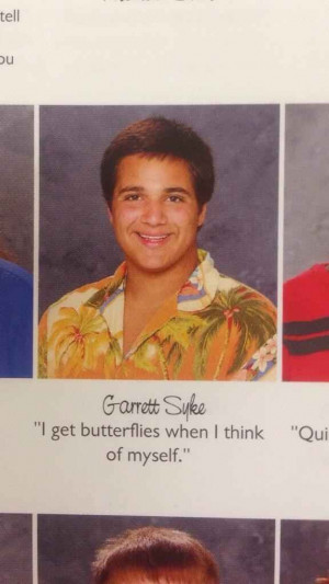 The Butterfly Effect Quote: | The 38 Absolute Best Yearbook Quotes ...