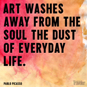 This is an amazing collection of stunning Pablo Picasso quotes ...