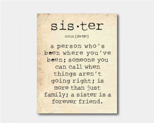 Sister Love Quotes And Sayings Sister quote - family
