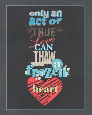 Frozen The Movie Quotes Love.. frozen movie quote
