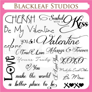 ... /Valentines Day February 14th Sayings and Quotes Word Art Titles