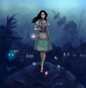 Alice under water by ~Tammoko on we heart it / visual bookmark #237...