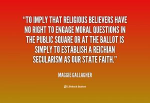 Maggie Gallagher