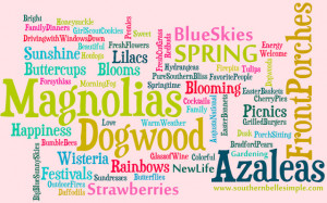 Springtime in the South: In Your Words