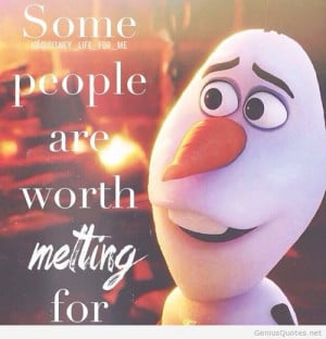 Frozen Olaf Quote