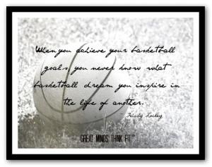Inspirational Basketball Quotes Basketball inspirational