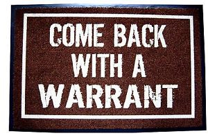 COME-BACK-WITH-A-WARRANT-DOOR-MAT-WELCOME-FUNNY-INDOOR-OUTDOOR-CAMPING ...
