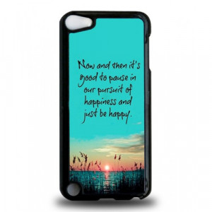 Home » Happiness Quotes iPod Touch 5th Generation Case