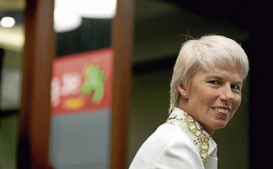 Gail Kelly … St George slotted her most likely successor, PaulFegan ...