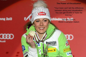 Mikaela Shiffrin quote on visualization