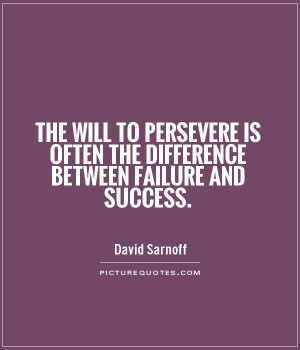 quotes about perseverance