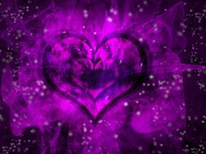 Beautiful purple heart wallpaper, purple heart wallpaper , purple ...