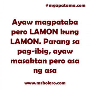 masaktan quotes Mga Patama Quotes and Banat Tagalog Love Quotes
