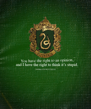 Slytherin Quotes Tumblr Slytherin
