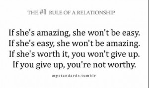 Relationship rule quote