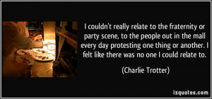 More Charlie Trotter Quotes