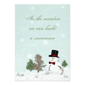 winter wedding invitation is fully customizable including the quote ...