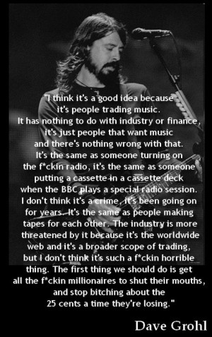 dave grohl on american idol quote dave grohl courtney love killed kurt ...