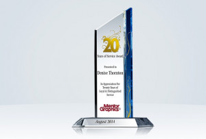 ... Recognition » Years of Service » Pinnacle Long Service Plaque