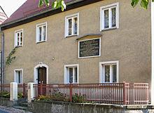 The house where Karl G. Maeser was born