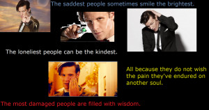 Doctor Who Collage With A Meaningful Quote by MatsyTheDoctor