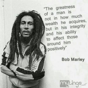 Best Bob Marley Quote in the World!