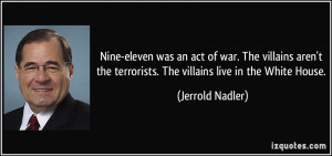 Jerrold Nadler Quote