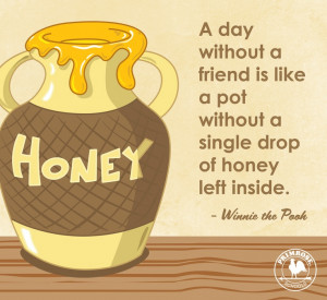 ... Winnie, Honey Pots, Winnie Pooh, Close Friendship, Heart Warm Quotes