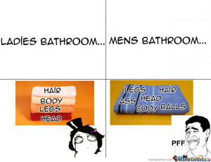 Bath.. Man Vs Women
