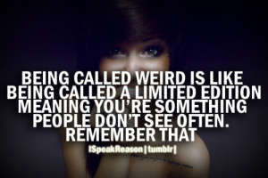 are you weird?