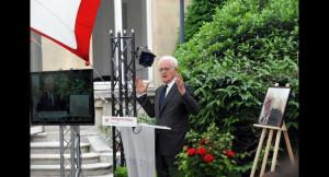 Vibrant hommage de Lionel Jospin à Pierre Mauroy. Photo Réveil FM
