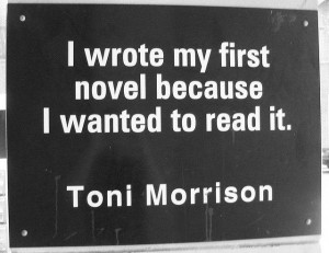 Charlotte Library Quotes _ Toni Morrison by trythesky, via Flickr