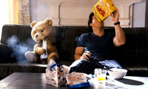 Ted and Mark Wahlberg stars as John in Universal Pictures' Ted (2012)