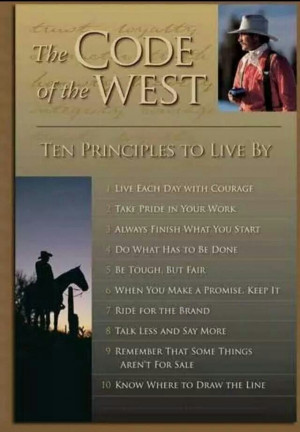 Ten Principals To Live By