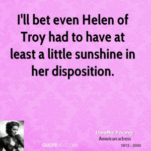 Loretta Young Quotes