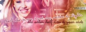 Hannah Montana Facebook Covers