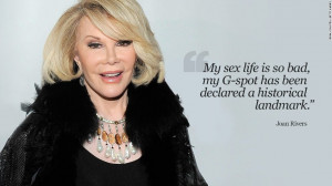Joan Rivers: In her own words 10 photos